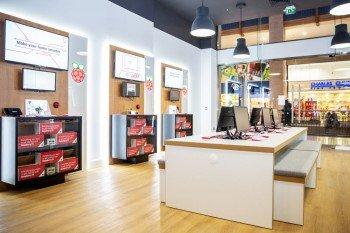 (Nie)oficjalna premiera Raspberry Pi podczas otwarcia sklepu