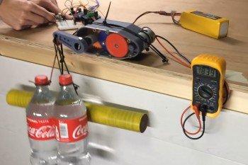 Serwomechanizm do zadań specjalnych wydrukowany w 3D