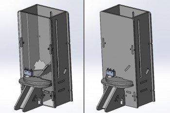 Model 3D dozownika
